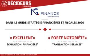 Classement Décideurs // Leader Leagues 2020 : Stratégie Financières & Fiscales