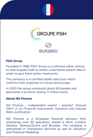 NG Finance assisted Group PSIH in its development