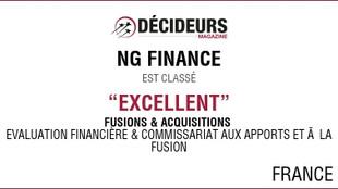 Classement Transactions services et Evaluation financière
