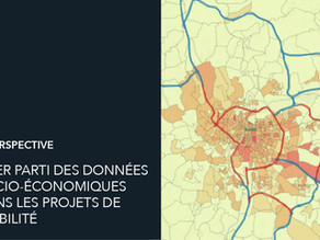 Données socio-économiques : comment en tirer parti dans les projets de mobilité ?
