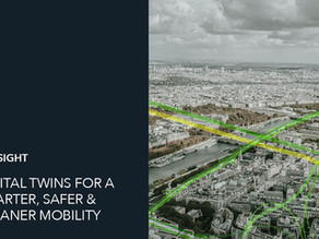 Digital twins, to accelerate the transition towards a smoother, safer and cleaner mobility