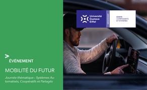 Neovya intervient pour la journée sur la conduite autonome organisée par l'Université Gustave Eiffel