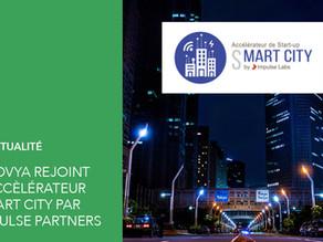 Neovya fière de rejoindre l'accélérateur Smart City d'Impulse Partners