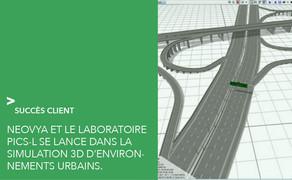 Neovya accompagne le laboratoire PICS-L dans la simulation 3D d'environnements urbains