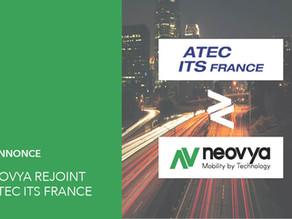 Neovya rejoint l'association professionnelle ATEC ITS France