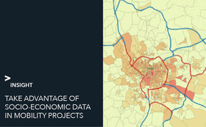 Socio-economic data: how to take advantage of this in mobility projects?
