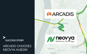 Arcadis and Neovya Hubsim to smooth traffic flows on the Bordeaux ring road