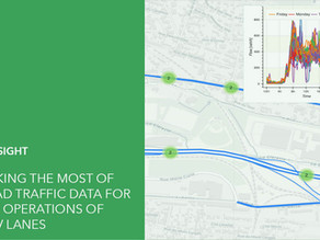 Making the most of road traffic data to test operating measures for carpooling reserved lanes