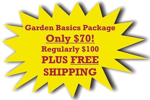 Garden Basics SALE Package!