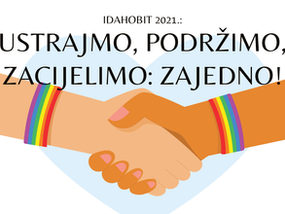 Program obilježavanja IDAHOBIT-a 2021: Ustrajmo, podržimo, zacijelimo!