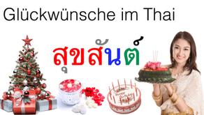 Glückwünsche im Thai