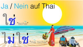 Ja / Nein auf Thai