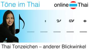 Tonzeichen und Töne im Thai