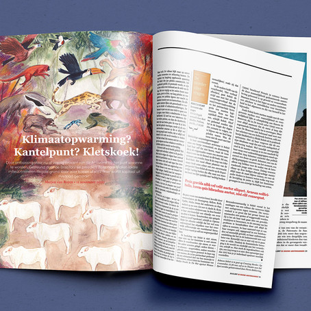 January: Editorial Illustration