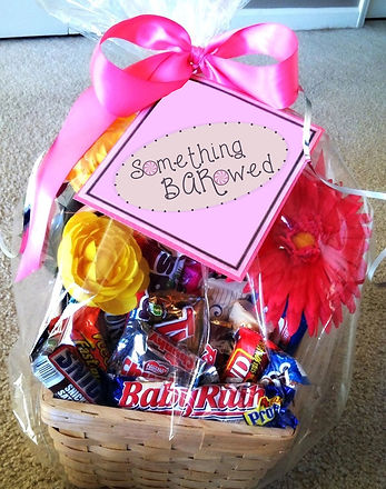Something BARowed Candy Gift Basket