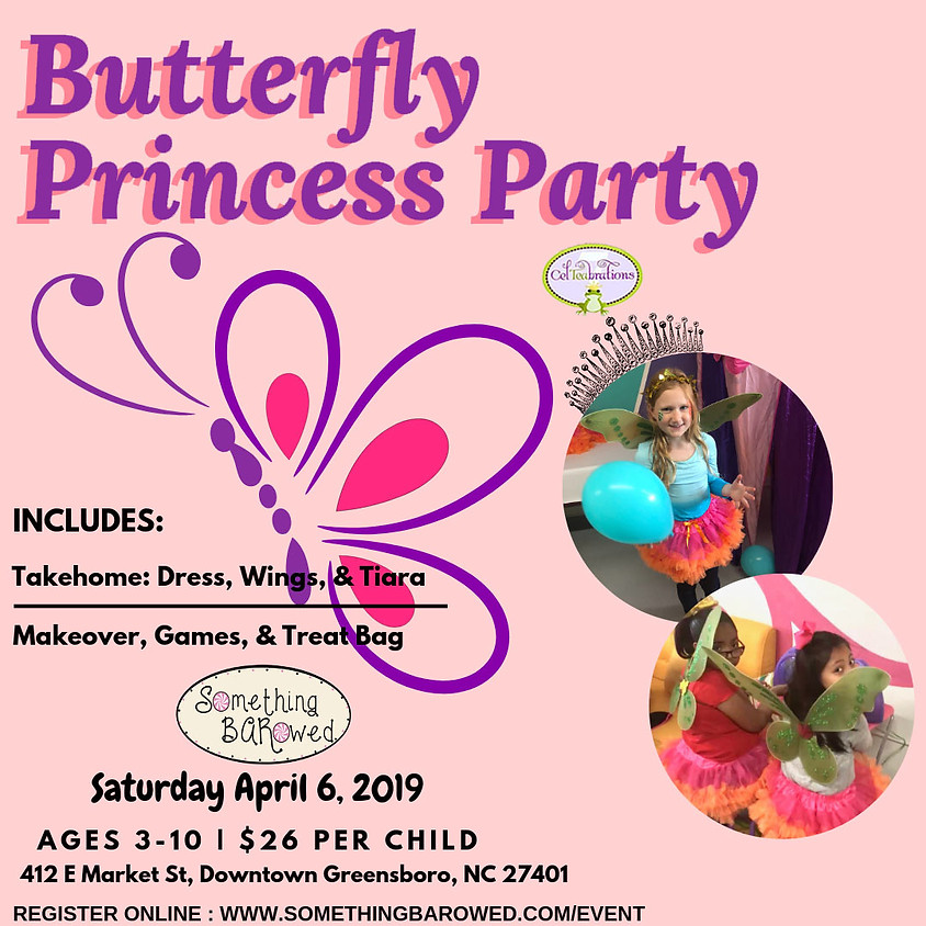 Butterfly Princess Party