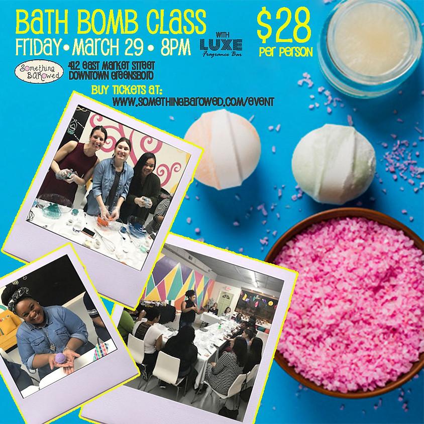 Bath Bomb Class