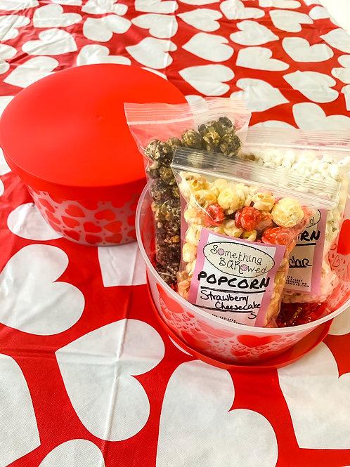 Valentine's Pop Buckets