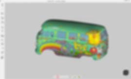 Full colour 3d scans