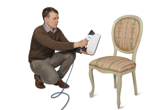 Calibry scanner scanning chair