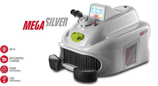 Laser welder Mega Silver-Elettrolaser