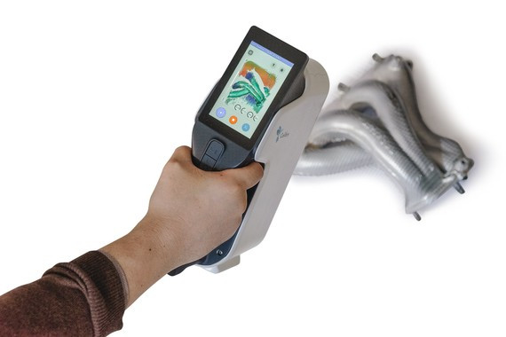 Calibry scanner scanning pipes