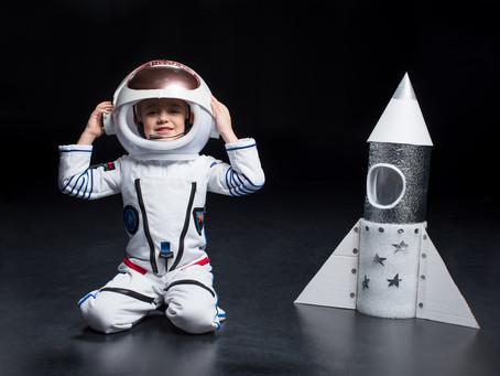 宇宙飛行士がアイドルと化す時代がくる!子ども達の職業に変化!