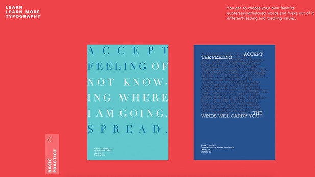Learn MoreTypography