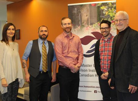 Lancement du projet Repenser l'Acadie dans le monde à McMaster University