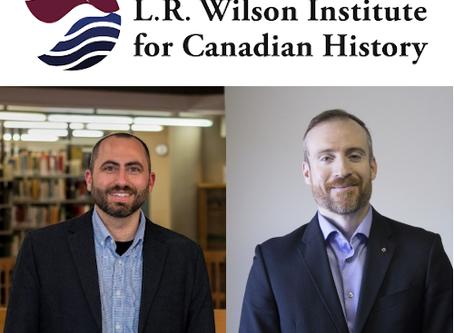 Institut L.-R. Wilson : un nouveau mandat (2020-2023) pour Clint Bruce et Gregory Kennedy