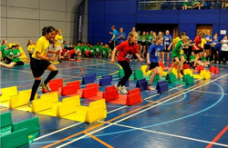 Stepper in the Obstacle Relay
