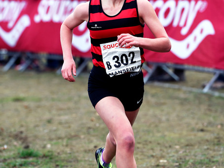 Phoebe Wins National Relays Medal