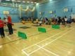 Sportshall  Hurdles