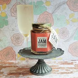 Strawberry Prosecco Jam Cheese Plate