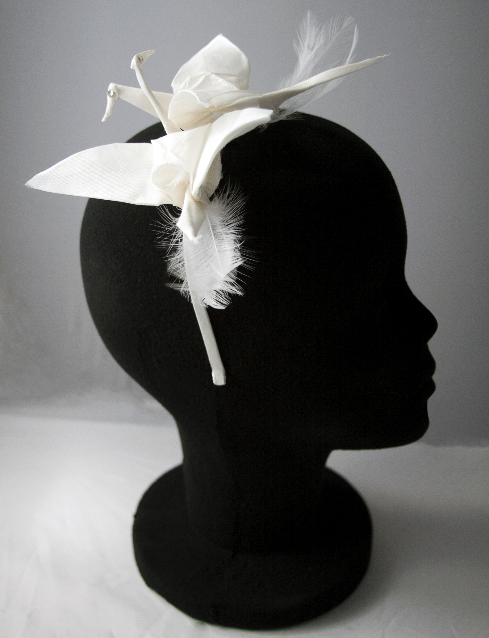 origami bridal headpiece (1)