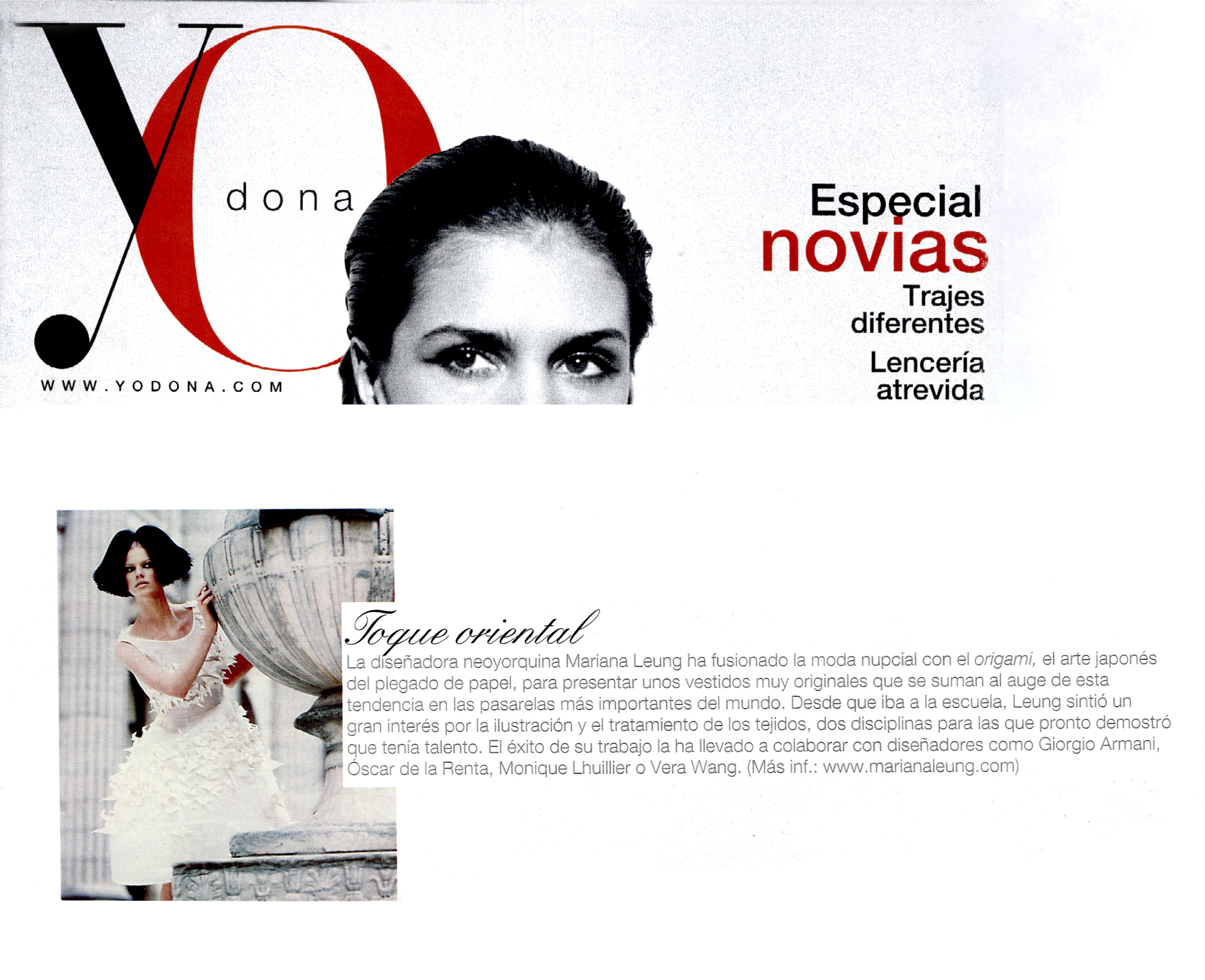 Yo Dona Magazine