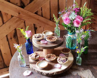 Rustic Pie Display