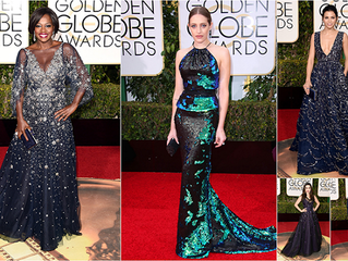 Our Favorite Sparkly Bits at the Golden Globes Red Carpet