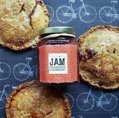 Strawberry Prosecco Jam