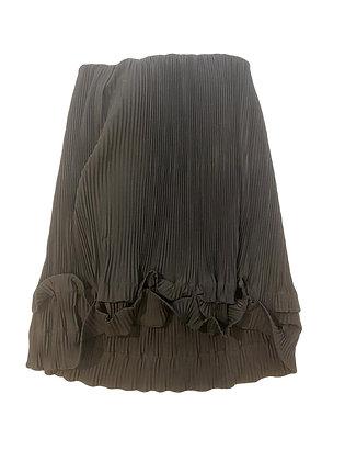 Fendi Silk Strapless Dress