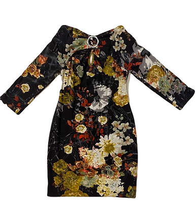 Cavalli Cotton Floral Dress