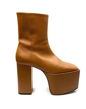 Balenciaga Wayio Leather Super Platform Bootie