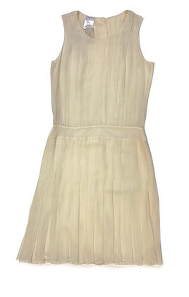 Chanel Pleated Silk Dress 2006 Collection