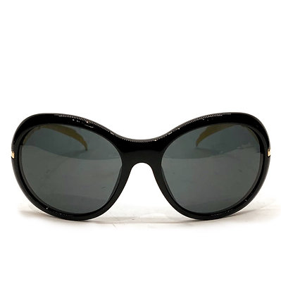 Chanel Black-Gold Sunglasses