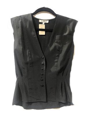 Chloe Vintage Silk Vest