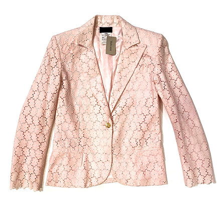 Gianni Versace Pink Broderie Blazer
