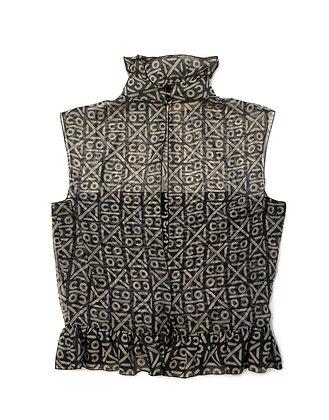 Chanel Vintage Silk Top