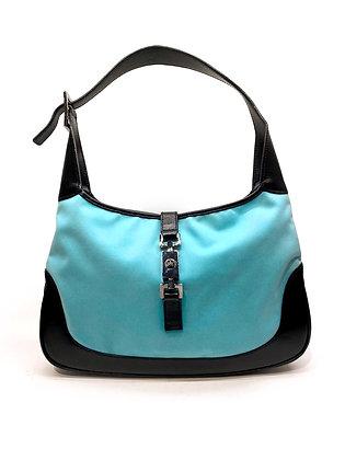 Gucci Vintage Jackie O Turquoise Bag