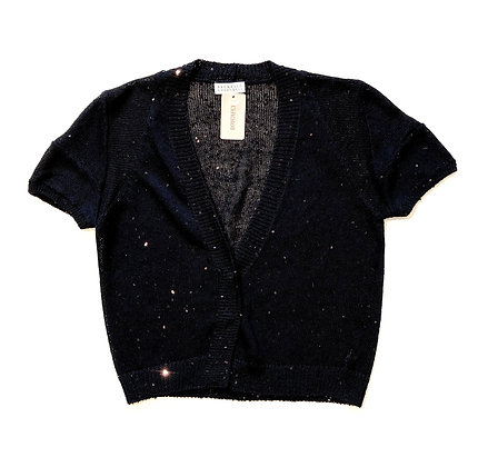 Brunello Cucinelli Black Cardigan