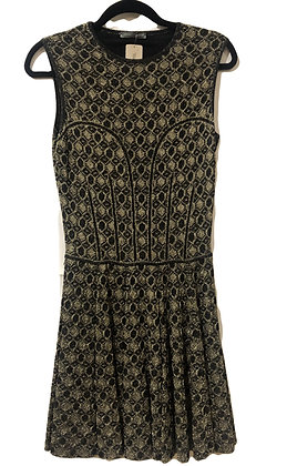 Alexander McQueen Lurex Dress